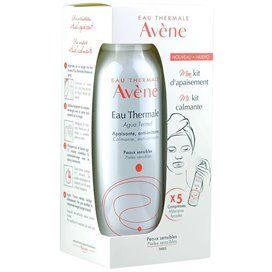 Avene Mi Kit Calmante Agua Termal 150Ml + 3 Mascaras Faciales