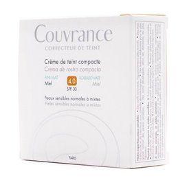 Avene Couvrance Oil-free Compact Cream 9.5G Honey