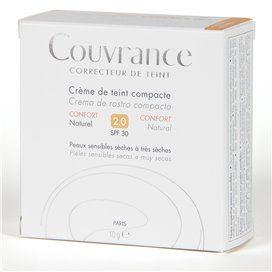 Avene Couvrance Creme Compacto enriquecido 9,5g Natural