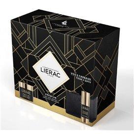 Lierac Pack Premium Crema Voluptuosa 50Ml + Contorno De Ojos 15Ml + Cartera
