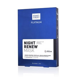 Martiderm Night Renew Mask 25 Ml X 5 U