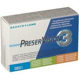 Preservision 3 60 Capsulas BR