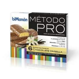 Bimanan Pro Barrita Chocolate-Vainilla Dieta Hiperproteica 162 G 27 G X 6 U