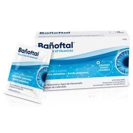 Bañoftal Toallita Ocular Esteril 20 Unidades