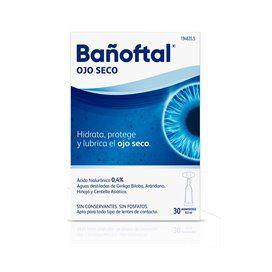 Bañoftal Ojo Seco 30 Monodosis 0,5Ml