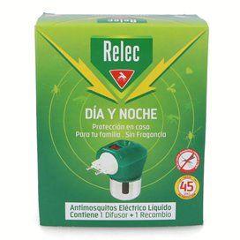 Relec Aparato Antimosquitos Eléctrico Líquido Con Difusor + Recambio 35Ml