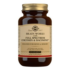 Solgar Brain Works 60 Capsulas Vegetales