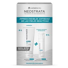 Neostrata Pack Restore Limpiador Facial 200Ml + Serum Rojeces 29G