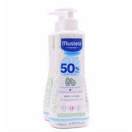Mustela Body Lotion 500Ml + Shower Gel 500Ml