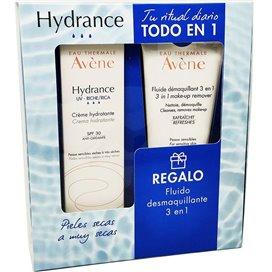 Avene Hydrance Crema UV SPF30 Rica 40Ml + Fluido Desmaquillante 3En1 100Ml