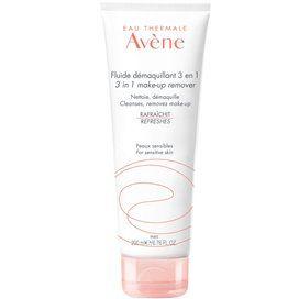 Avene Make-up Remover Fluid 3 In 1 200 Ml