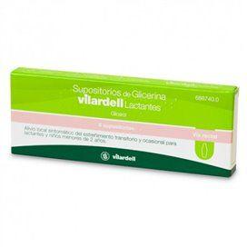 Supositorios Glicerina Vilardell Lactantes 0.92 G 6 Supositorios (Blister)