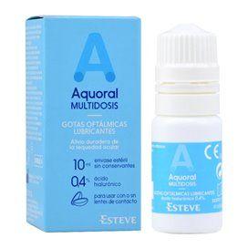 Aquoral Gotas Oftalmicas 10Ml Hialuronico 0.4% Multidosis