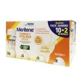 Meritene Drink Vainilla Pack Ahorro 12x125Ml