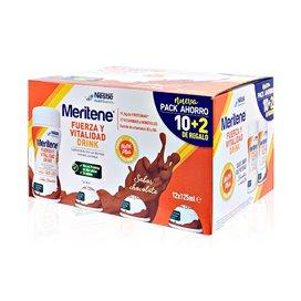 Meritene Drink Chocolate Pack Ahorro 12x125Ml