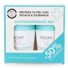 Vichy Antiperspirant 48 Hour Deodorant Duplo