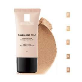 La Roche Posay Toleriane Teint Fondo Maquillaje Mousse Matificante 03 Sable SPF20