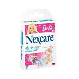 3M Tiritas Barbie Nexcare Agua 27x57 Mm 14 U
