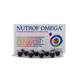 Nutrof Omega 36 Capsulas EN