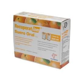 Recuperat-Ion Suero Oral S.R.O. 250 Ml 2 Brik Naranja