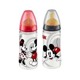 Nuk Biberon Disney Mickey Latex First Choice 300 Ml 0-6 M