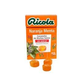 Ricola Caramelos Naranja Menta