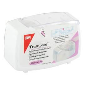 Esparadrapo Hipoalergico Transpore Plastic Portar 5 M X 2,5 Cm BR