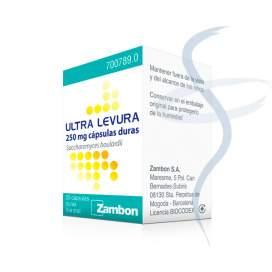 Ultra-Levura 250 Mg 20 Capsulas