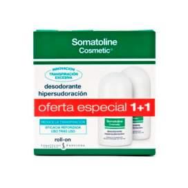 Somatoline Desodorante Hipersudoracion Roll-On 2x30Ml Duplo