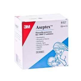 Mascarilla Proteccion Aseptex 5U