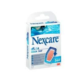 3M Nexcare Agua 360º Aposito Adhesivo 26 X 57 Mm 14 Apositos