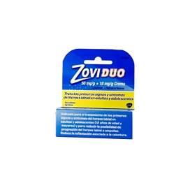 Zoviduo 50/10 Mg/G Crema Tubo 2 G