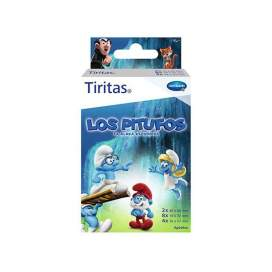Tiritas Strips Smurfs 3 sizes 14U