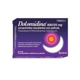 Dolomidina 10 Comprimidos 500/25Mg