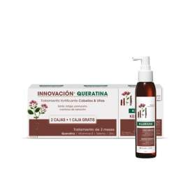 Pack Klorane Keratincaps Triple + Serum Force Keratine125Ml