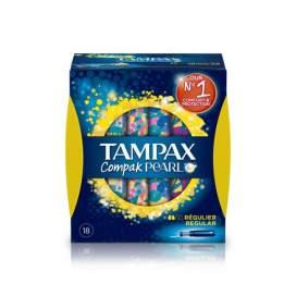 Evax Tampax Compak Pearl Tampon Regular 18U