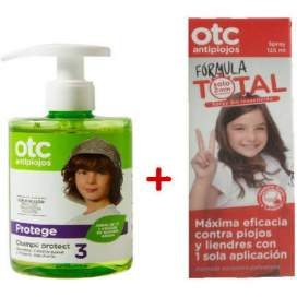 Pack OTC Spray Antipiojos 125Ml+Champu 300Ml