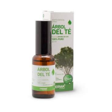 Aceite Sencial Spray Arbol Del Te 100% Puro 30Ml