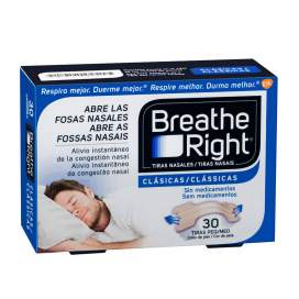 Rhinomer By Breathe Right Tira Nasal Clasicas T- Peq-Med 30 U
