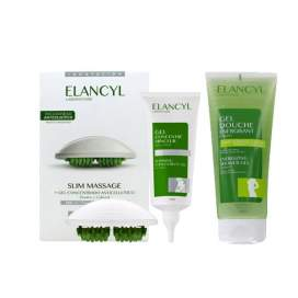 Elancyl Activ Gel Massage Anticelulite + Globe 200 Ml + Scrub 150ml