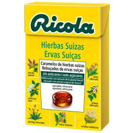 Ricola Caramelos Sin Azucar Hierbas Con Stevia 50 G