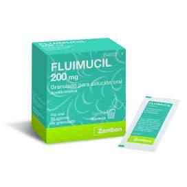 Fluimucil 200 Mg 30 Sobres Granulado