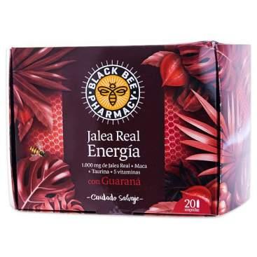 Black Bee Jalea Real Energia Con Guaraná 20 Ampollas