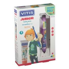 Kity Dental Vitis Junior Gel 75Ml + Cepillo