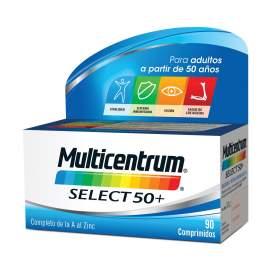 Multicentrum Select 50+ 90 Comprimidos