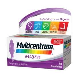 Multicentrum Mujer 90 Comprimidos
