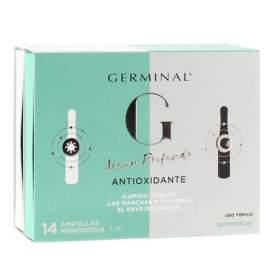 Germinal Accion Profunda Antioxidante Noche Y Dia 14 Ampollas
