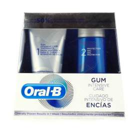 Oral-B Cuidado Intensivo De Encias Pack Pasta 85 Ml + Gel 63 Ml