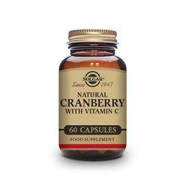 Solgar Arandano Rojo con Vitamina C 60 capsulas vegetales