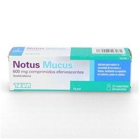 Notus Mucus 600 Mg - 20 Comp. Eferv.